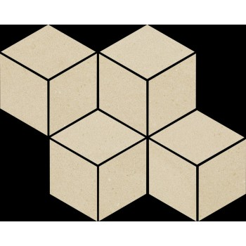 Rockstone Beige Mozaika Cięta Mix 20.4x23.8 GAT.I
