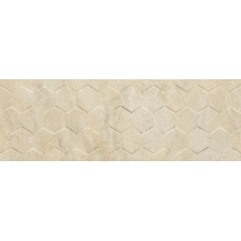 Arena Cream Hexagon 25x75...