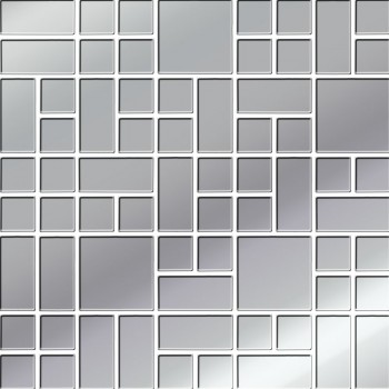 Platinum Glass Mosaic 25x25...