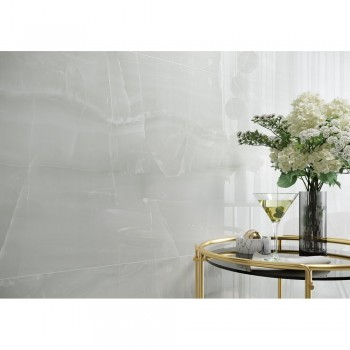 BRAVE ONYX WHITE POLISHED 79,8X79,8 GAT.I