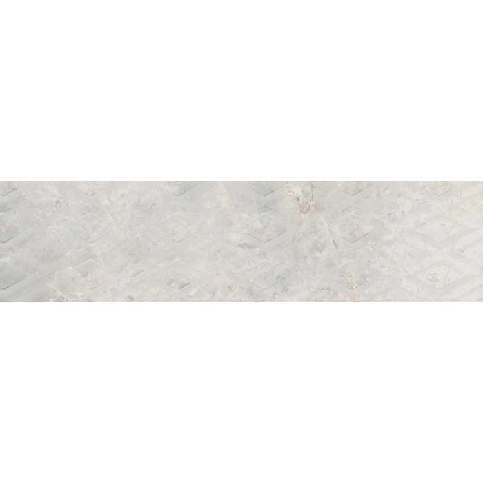 MASTERSTONE WHITE DECOR GEO 29.7x119.7x8 G.I