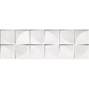 Locarno White Quardra 25x75...