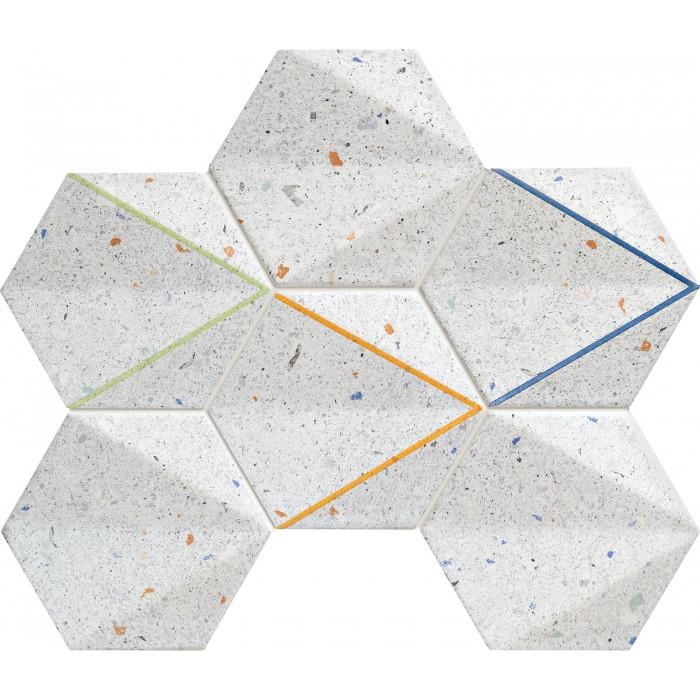 Dots grey mozaika 29,8x22,1 GAT.I