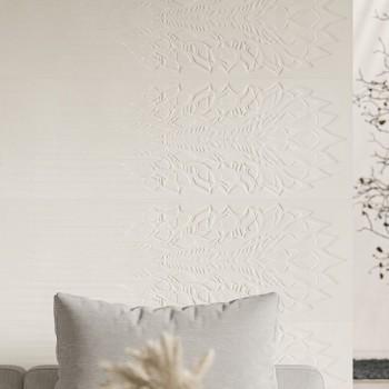 Cold Crown White Ściana Struktura Rekt. 39.8x119.8