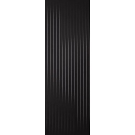 Cold Princess Black Ściana Struktura Rekt. 39.8x119.8