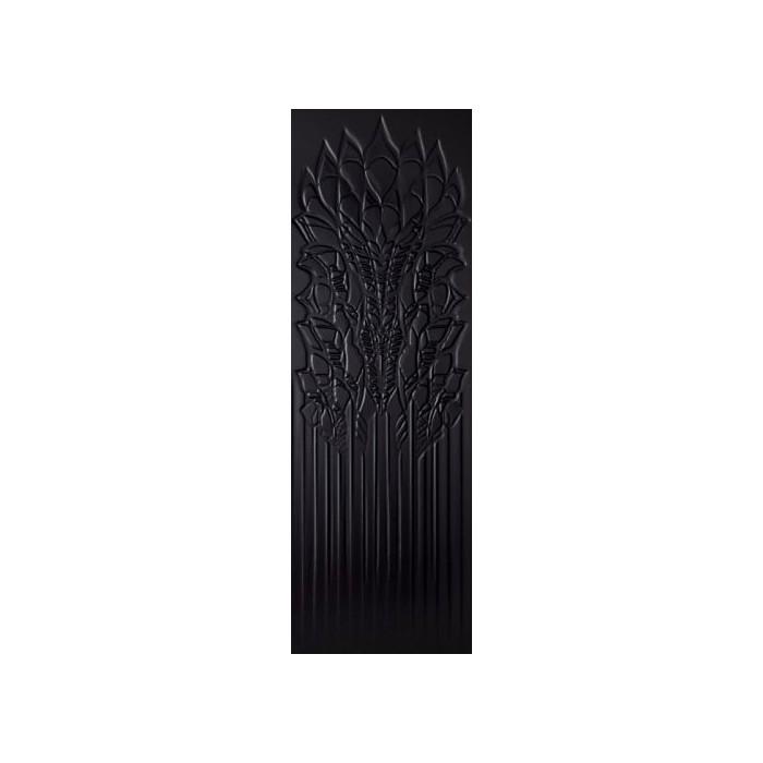Cold Crown Black Ściana Struktura Rekt.  39.8x119.8