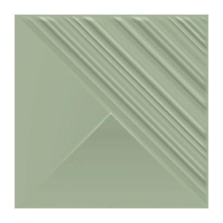 FEELINGS GREEN SCIANA STRUKTURA POLYSK 19,8X19,8 G1