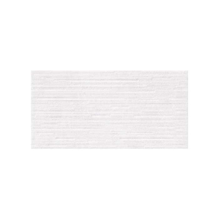 Vidal White Structure Satin Rect 29,8x59,8