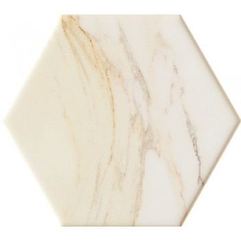 Flare white hex 11x12,5 Gat.1