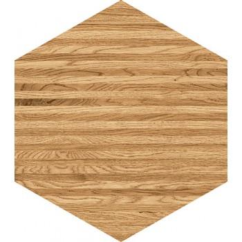Flare wood hex 12,5x11 Gat.1