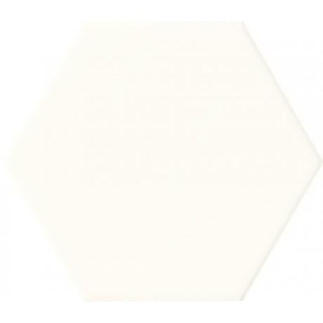 Burano white hex 11x12,5 Gat.1