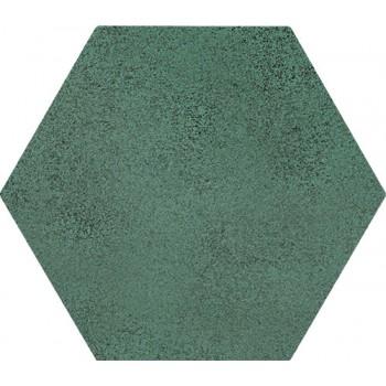 Burano green hex 11x12,5 Gat.1
